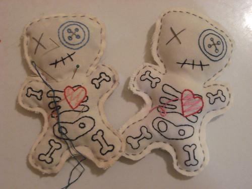 voodoo doll pincushions