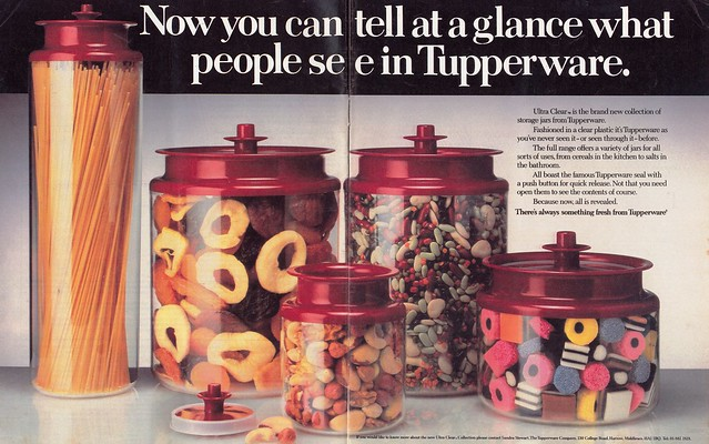 Tupperware Advert 1982