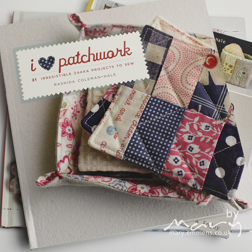 new book - I love patchwork