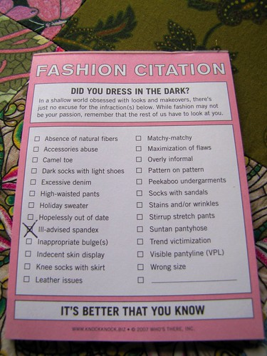 fashion citation