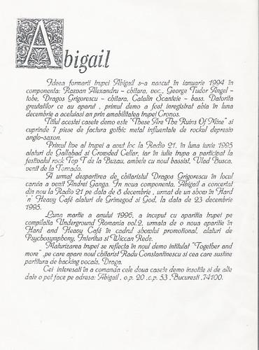 Abigail BIO 1996