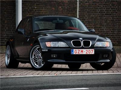 2000 BMW Z3 Coupe | Cosmos Black | Dream Red | Alpina Dynamic Wheels | Belgium