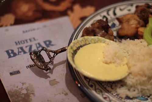 Dinner @ the Bazar