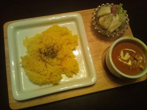 2012年2月12日 夕食(簡単!バターチキンカレー)