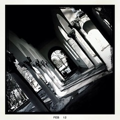 At the cemetery #hipstaroll_week38 #johns #blackeysbw #hipstamatic #devteros_cemetery