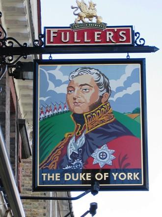 Chiswick, Fuller's The Duke of York pub, Devonshire Road.