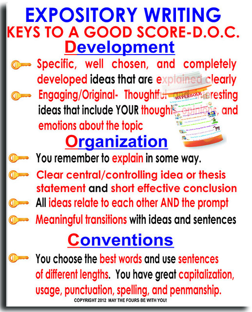 Explanatory essay writing for kids