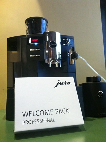 Our proud new Coffee Machine, the Jura