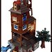 Lego Harry potter -The Burrow- by =DoNe=