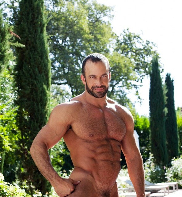 Smile & Muscles & Naked & Hairy & Garden