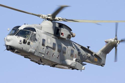 無料写真素材, 戦争, 軍用機, ヘリコプター, アグスタウェストランド AW EH, イタリア軍