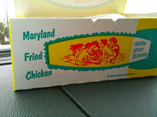 Fried Chicken Box Side - Delite Your Guests