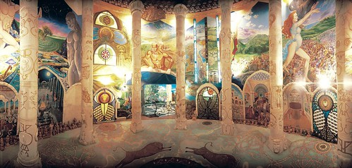 Hall of Earth - columns and walls