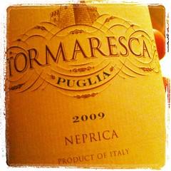 2009 Tormaresca Neprica Puglia IGT