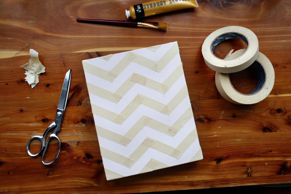 Chevron Wall Painting