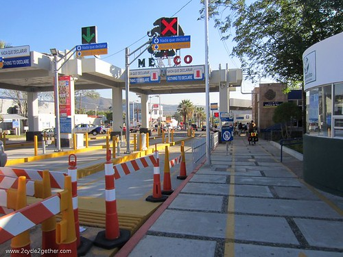 Border Crossing, Tecate, Baja