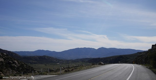Hwy 3 South, Tecate to Ensenada
