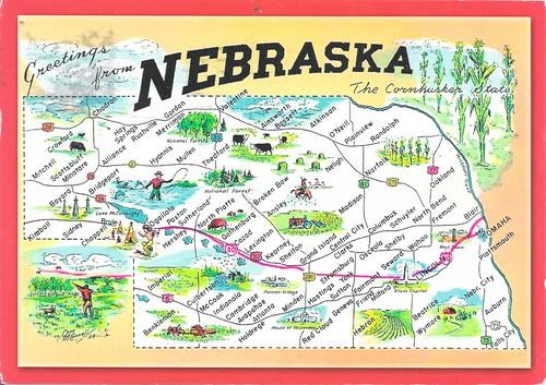 Nebraska Mapcard