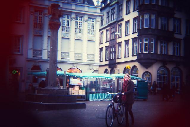 Trier Street with a Holga