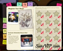 Send Sims Magician - Reward