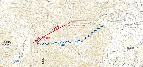 黒姫山行図