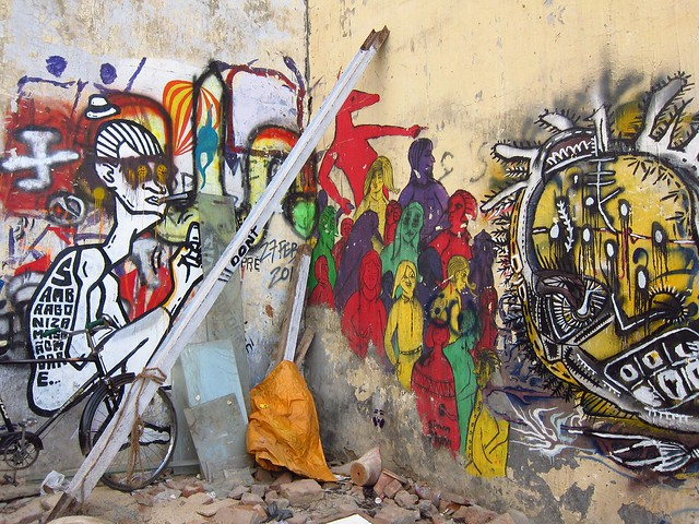 Graffiti in Hauz Khas