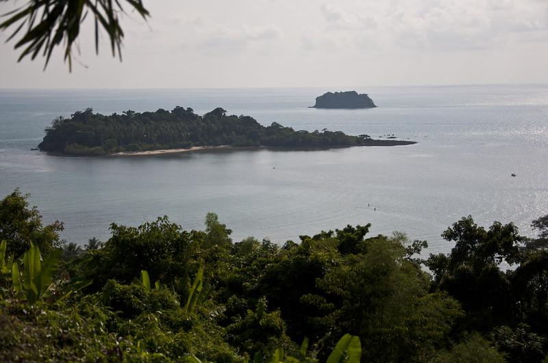 Вид со смотровой площадки на острове Ко Чанг
