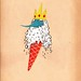Ice king as an ice cream.
