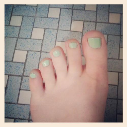 Mint Toes