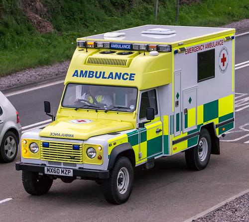British Red Cross Ambulance