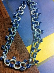 Tatted Necklace in Progress