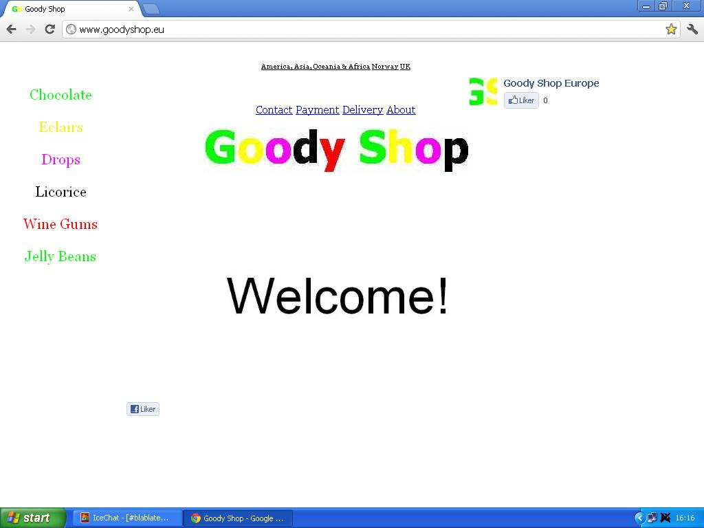 ferdig goody shop europe