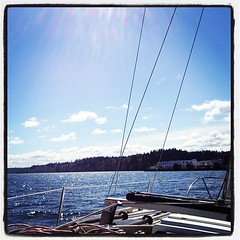 First sail of 2012. It was perfect!