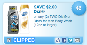 Dial Body Washes Coupon