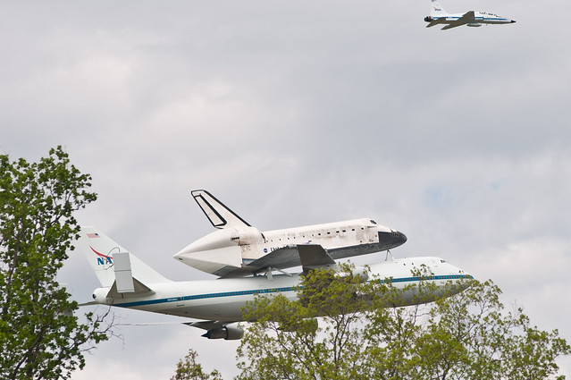 Space Shuttle Flyover | Flickr - Photo Sharing! |Space Shuttle Flyover
