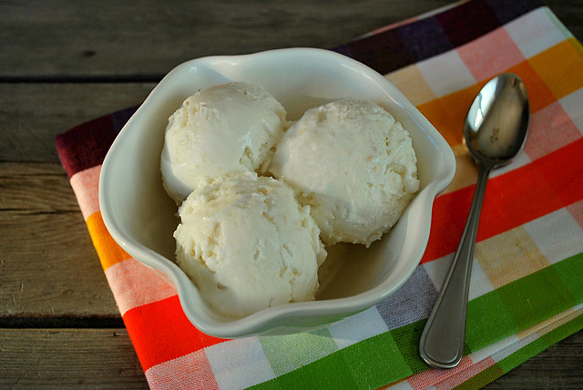 Coconut Ice Cream