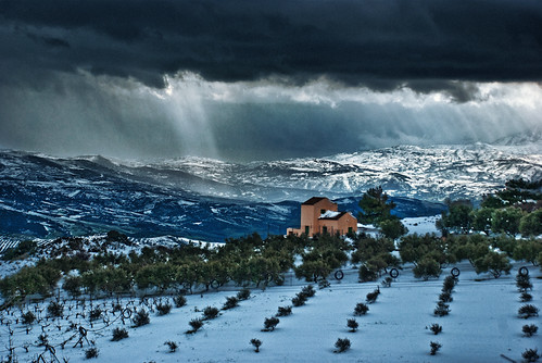 winter snow clouds landscape cloudy dramatic greece zeus crete hoys archanes vathipetro