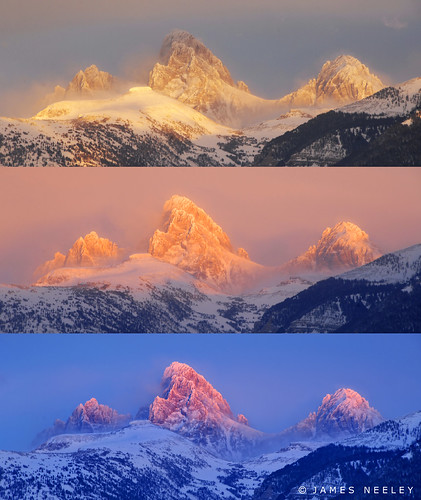 sunset mountains landscape webcam idaho wyoming grandtetons tetons jamesneeley flickr24 idahoside tetoncam