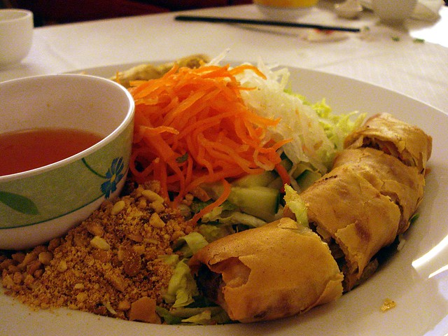 Bun chay/BCNTN vegetarian (vermicelli with salad and veget… | Flickr ...