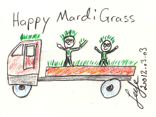 Happy Mardi Grass