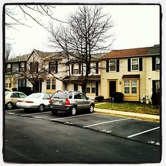 Day 3: My neighborhood (on a rainy morning) #marchphotoaday