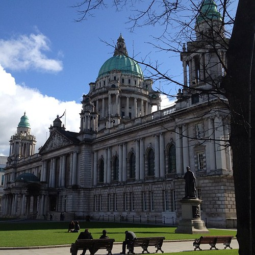 Hello Belfast - you look lovely in the sunshine