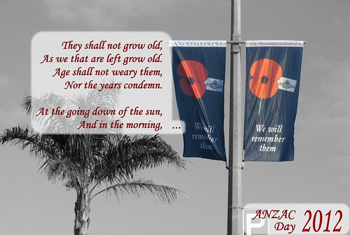 Anzac Day 2012