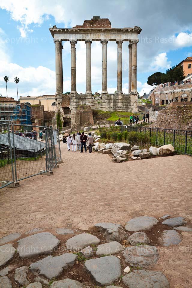Roman Forum (Foro Romano) @ Rome, Italy