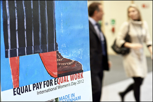 Equal pay for equal work:  follow the debate live