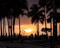 Sunset Over Waikiki Beach [Explored]