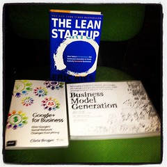 Google+ Lean Startup Business Model Books