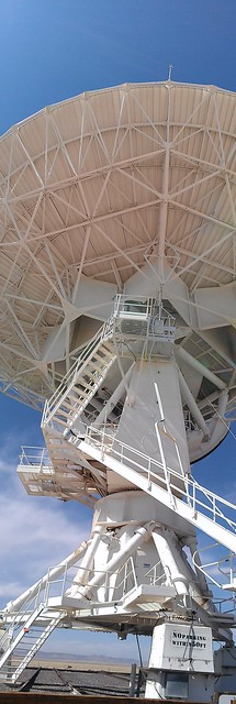 The tourist dish at the Very Large Array