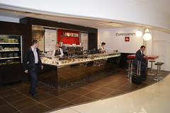 Illy Espressamente, Airside at London City Airport (1)