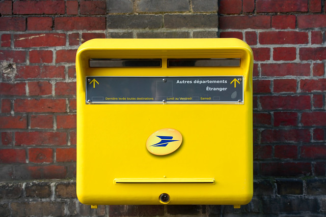 Bo te aux lettres de la poste flickr photo sharing - La poste renvoi courrier demenagement ...